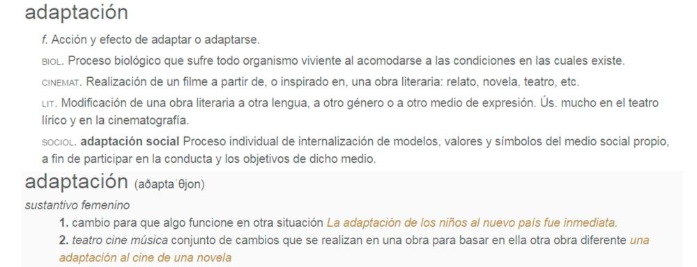adaptation significado 02